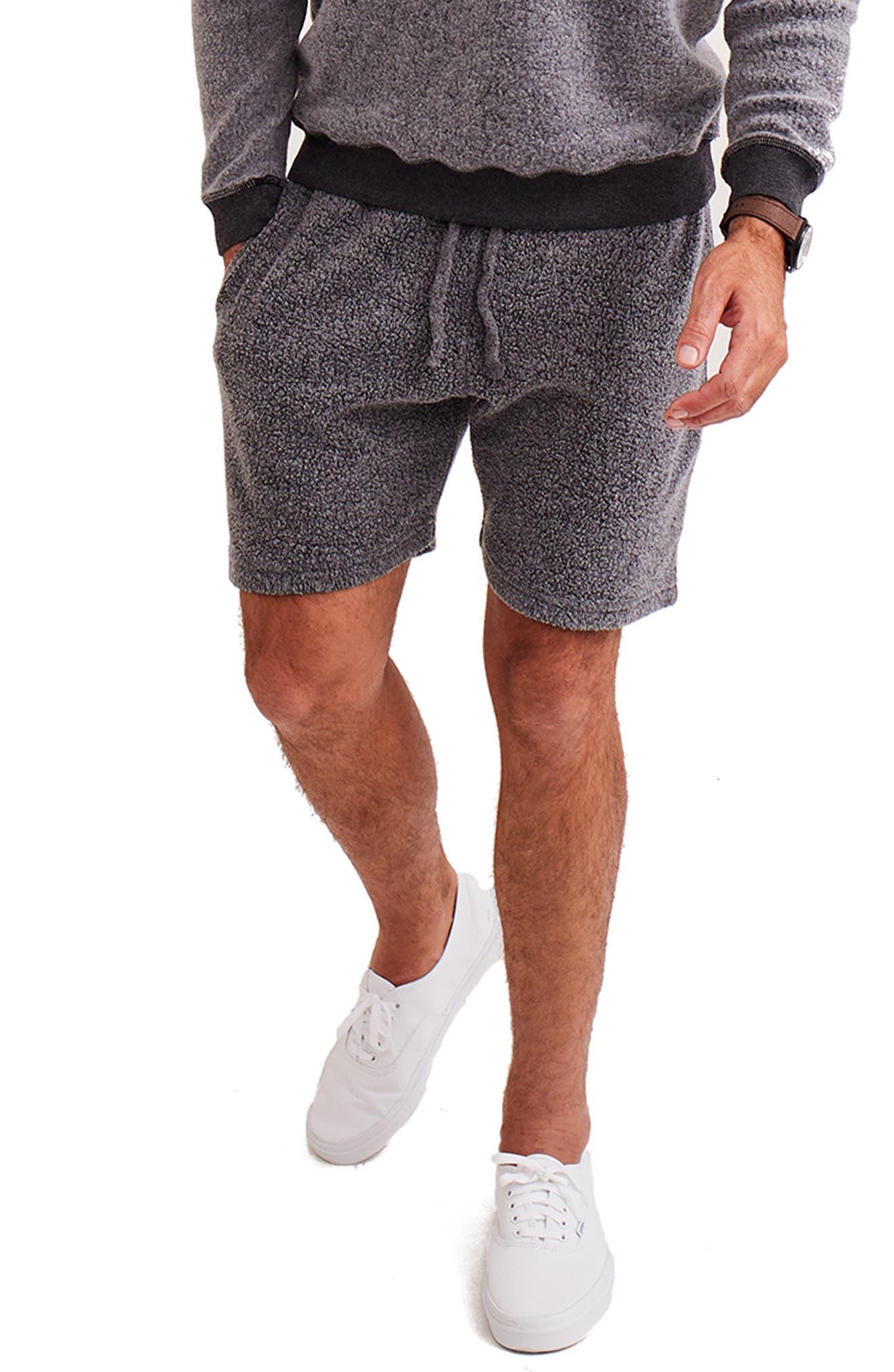 Reversible Fleece Sweat Shorts