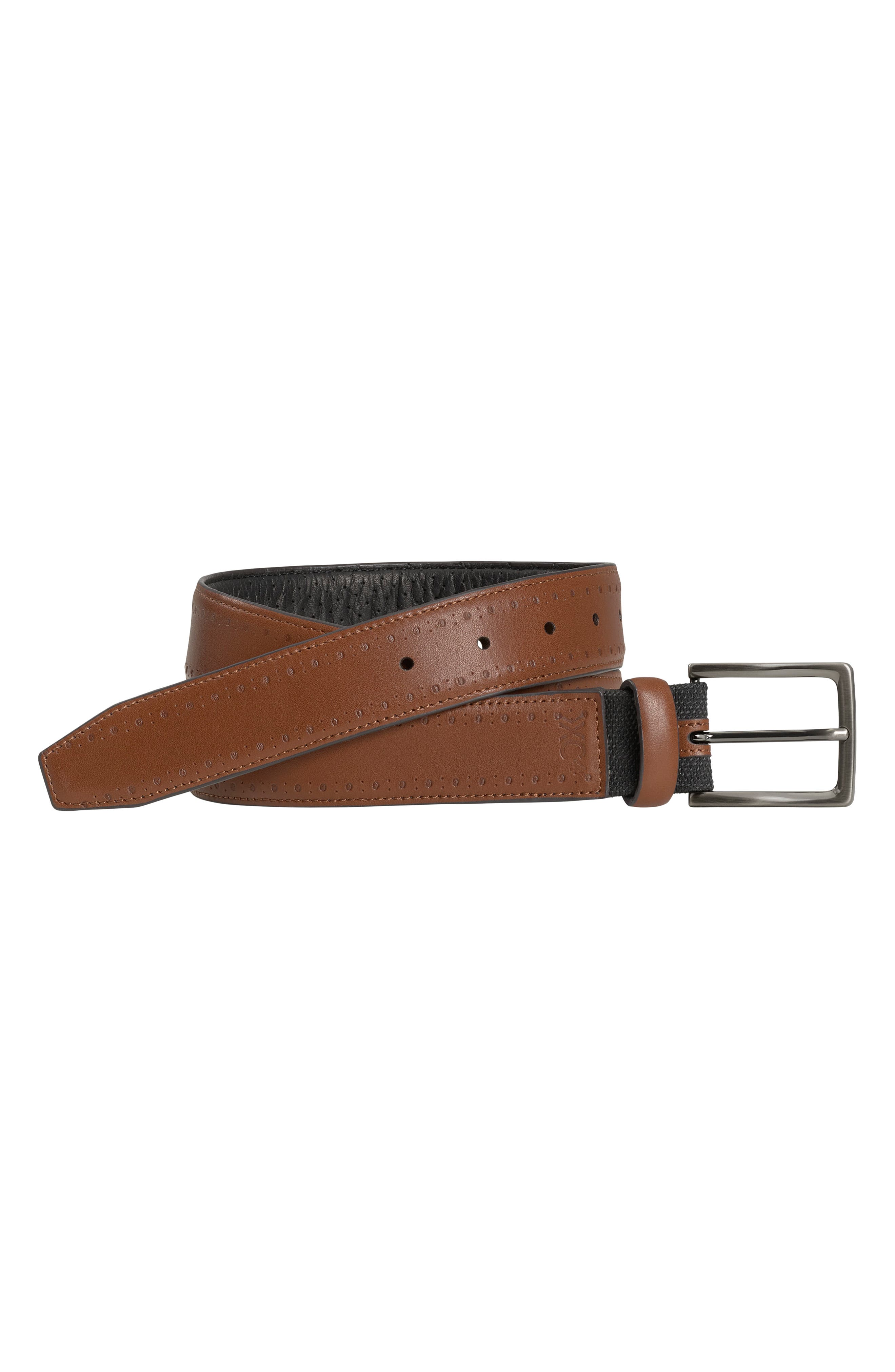Xc4 Perforated Leather Belt