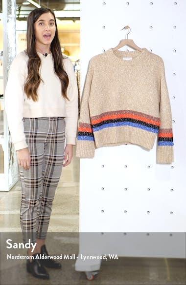 Mini Stripe Pullover, sales video thumbnail