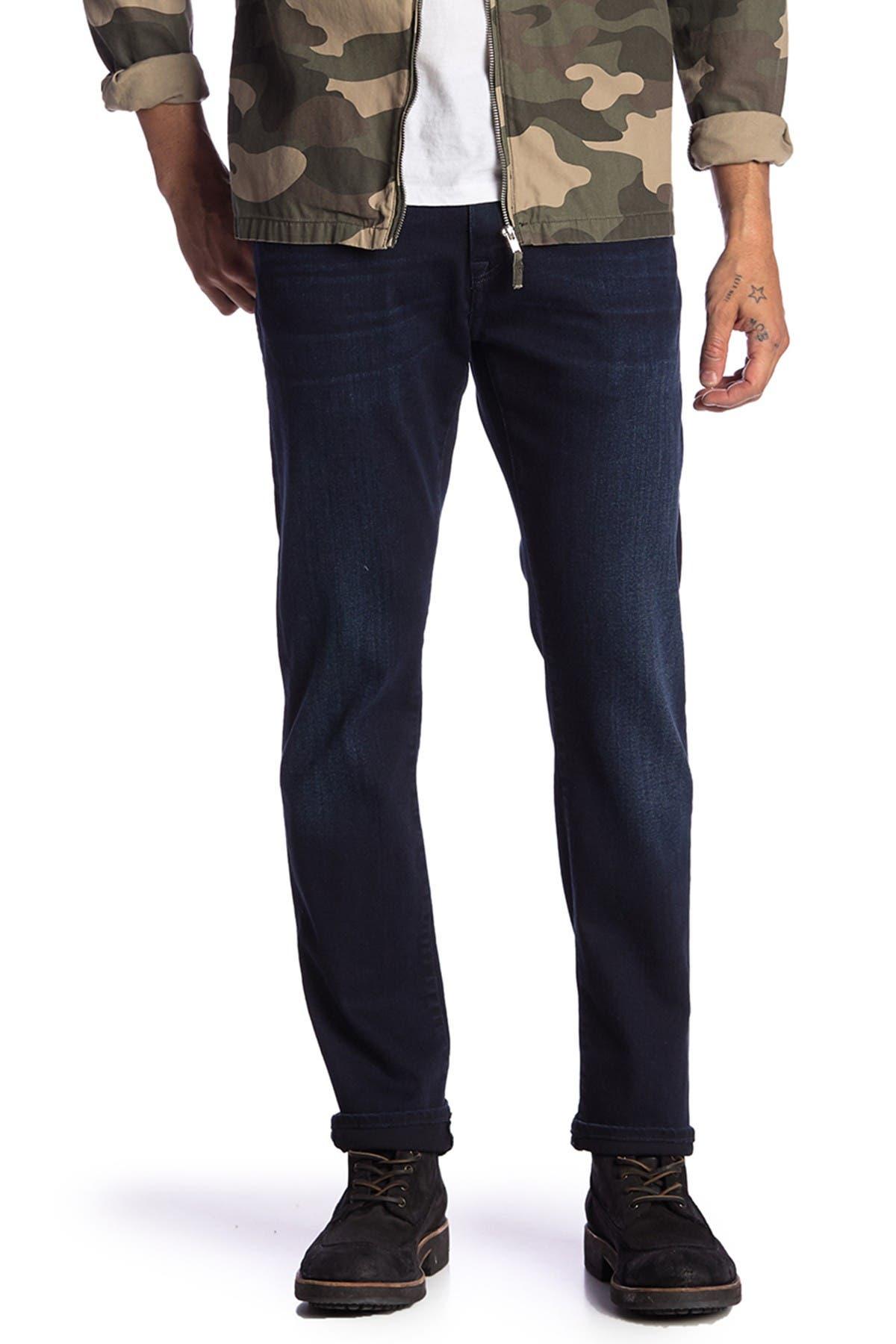"Image of Mavi Jake Ink Foggy Mountain Slim Fit Jeans - 30-34"" Inseam"