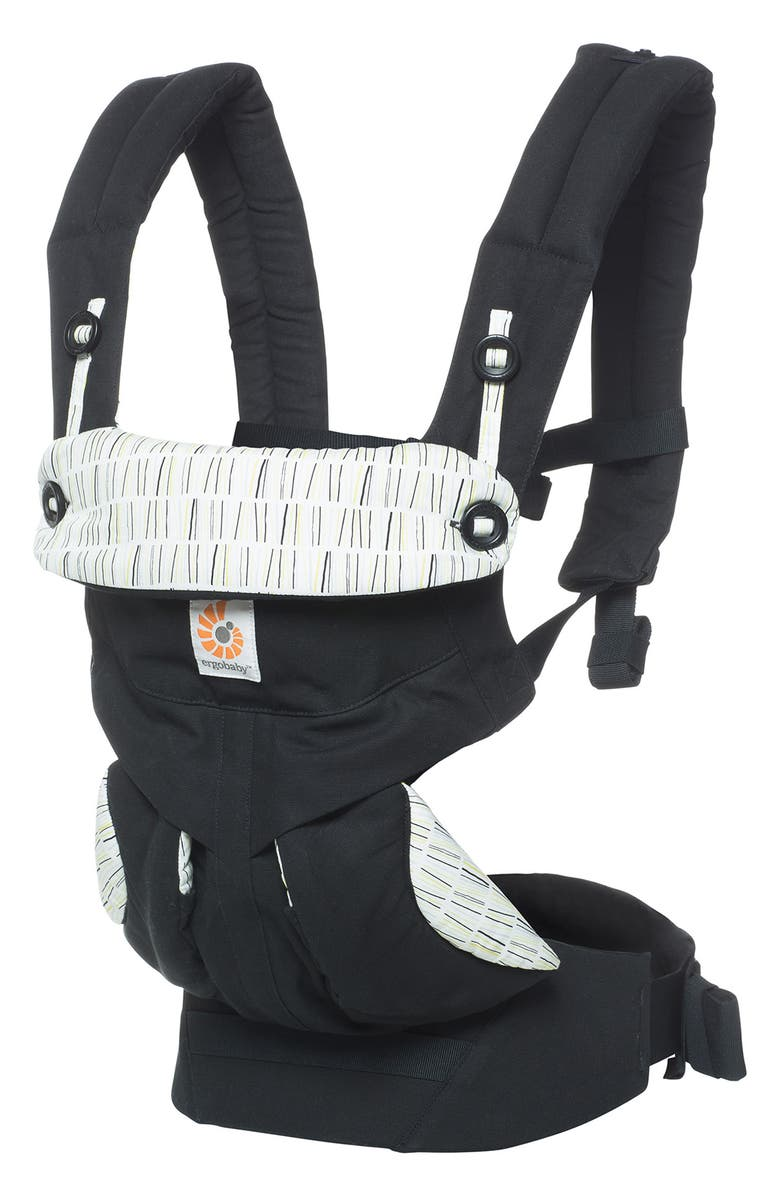 ERGOBABY Omni 360 Baby Carrier, Main, color, DOWNTOWN BLACK
