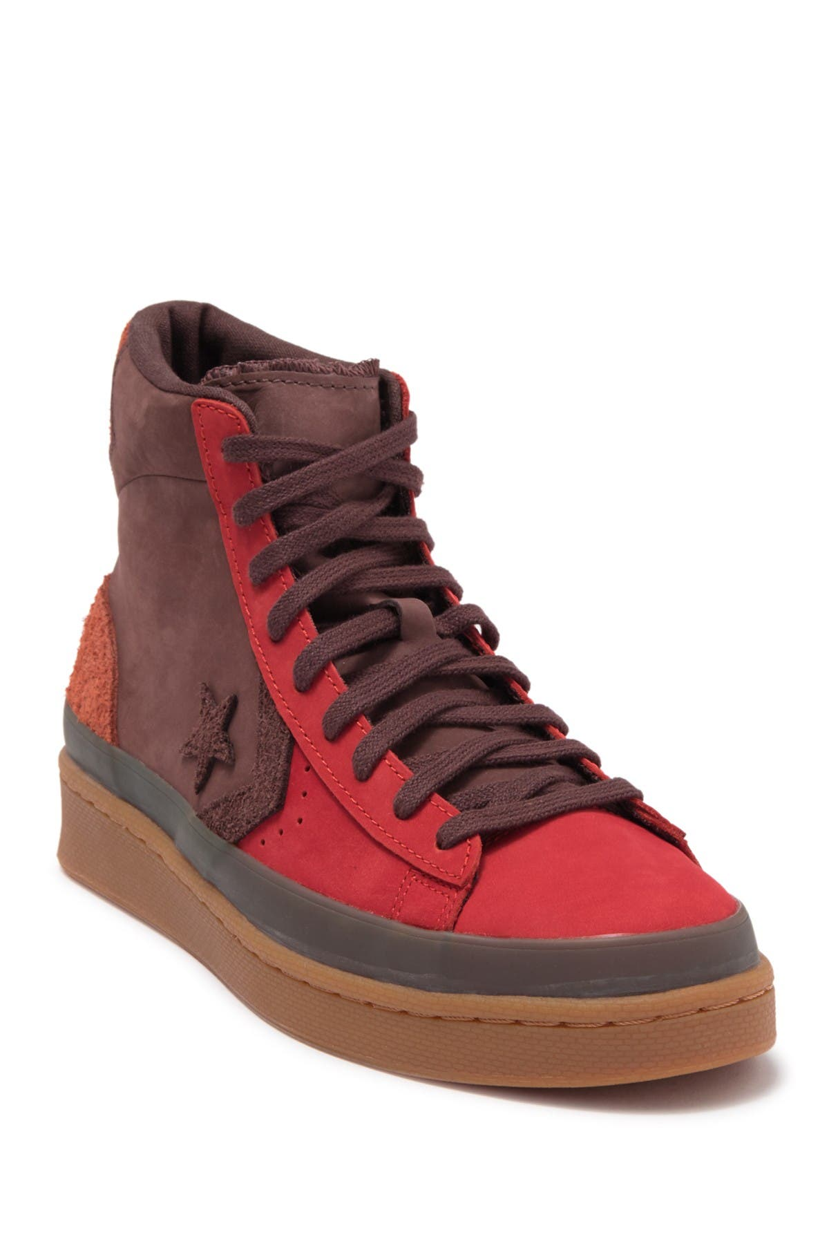 Image of Converse Pro Leather High Fiery Scarlet Sneaker