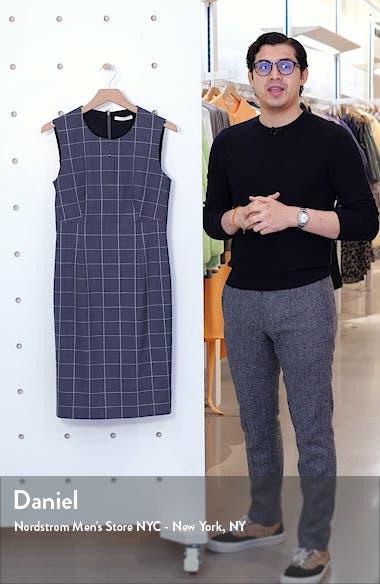 Densina Wool Blend Sheath Dress, sales video thumbnail