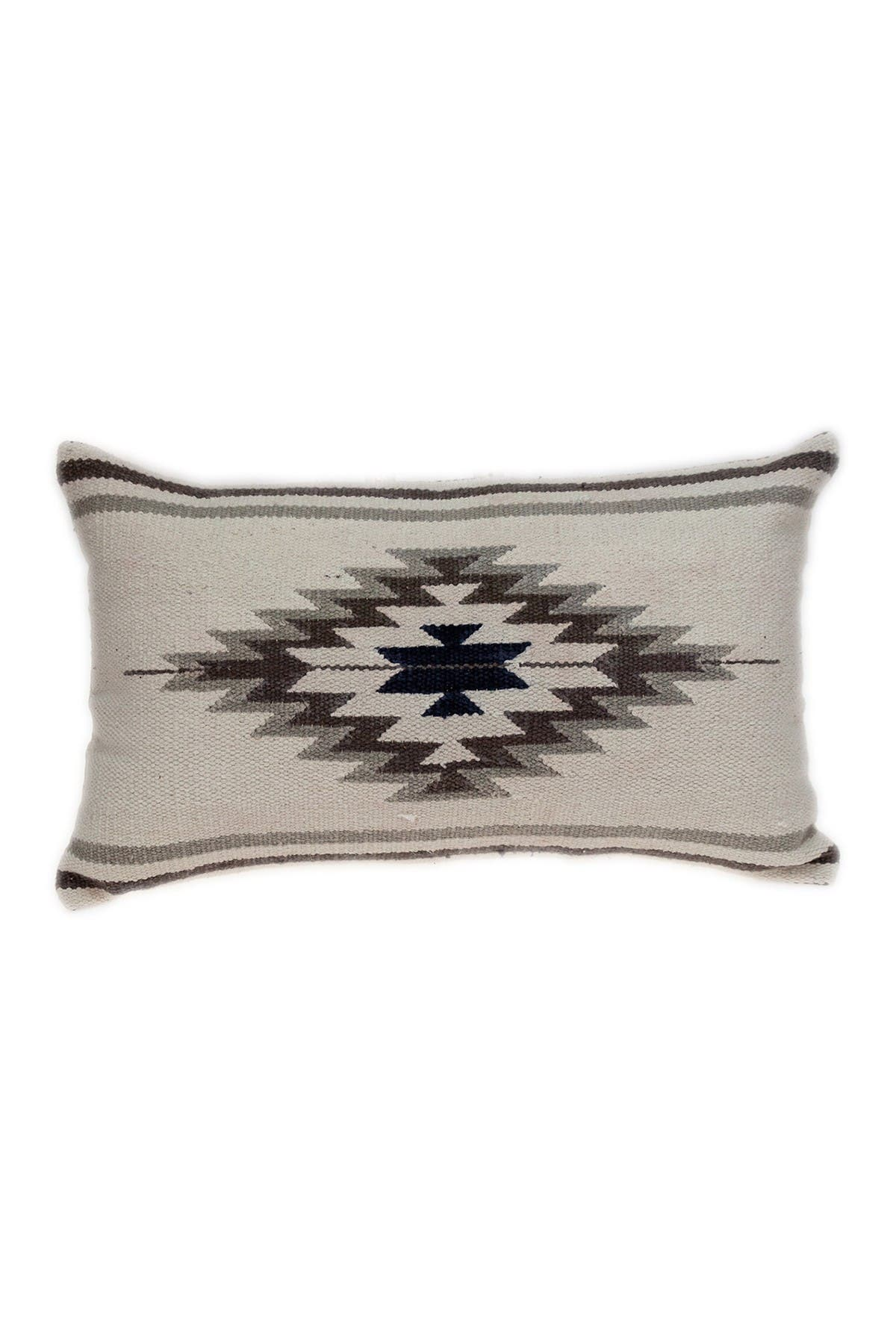 Image of Parkland Collection Kamal Transitional White Throw Pillow