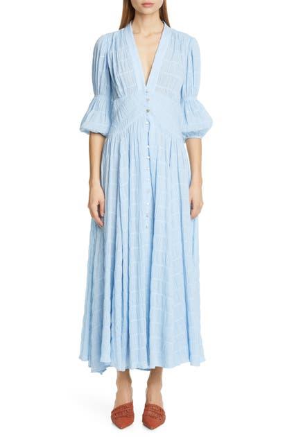 Cult Gaia Dresses WILLOW EYELET MAXI DRESS