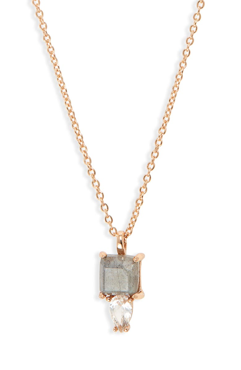 Melanie Auld Petra Semiprecious Stone Pendant Necklace