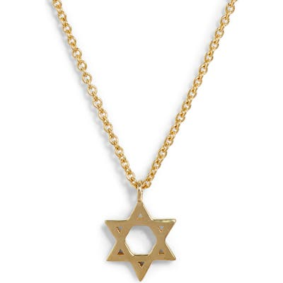 Bony Levy 14K Star Of David Pendant Necklace (Nordstrom Exclusive)