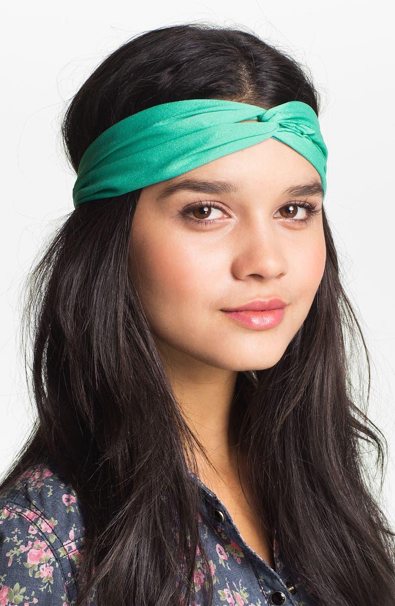 CAROLE Twist Knot Headband, Main, color, 312