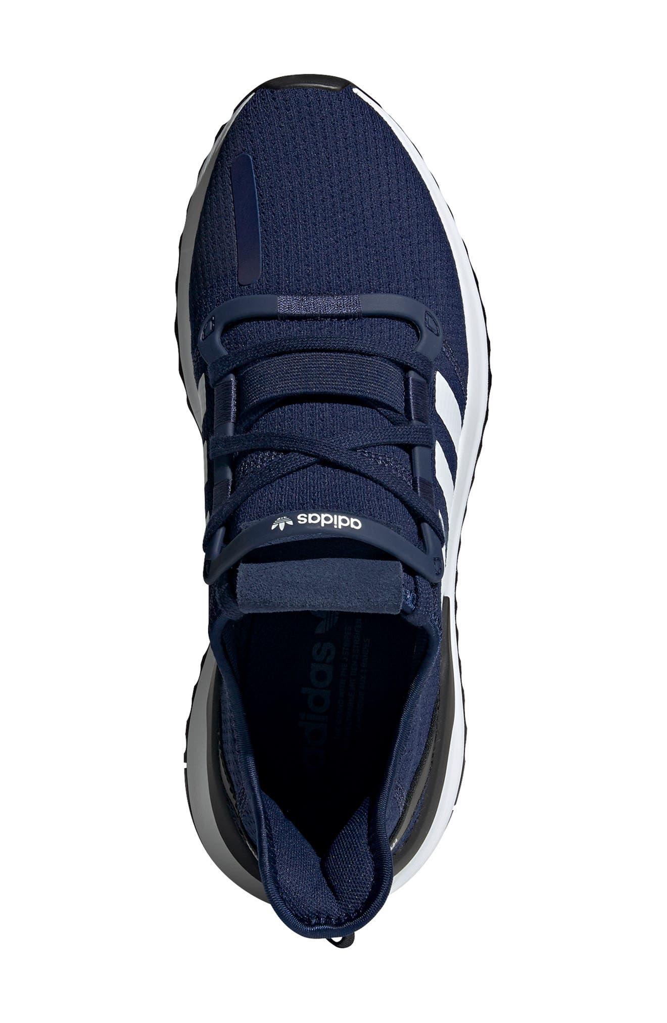 ,                             U-Path Run Sneaker,                             Alternate thumbnail 5, color,                             DARK BLUE/ WHITE