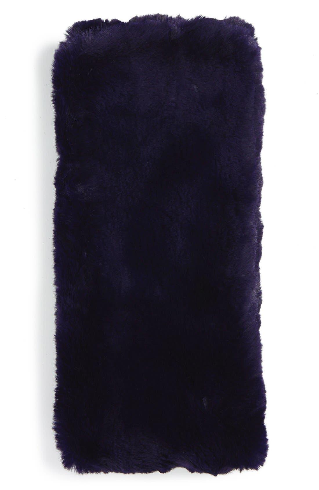 ,                             Faux Rabbit Fur Snood,                             Alternate thumbnail 9, color,                             400