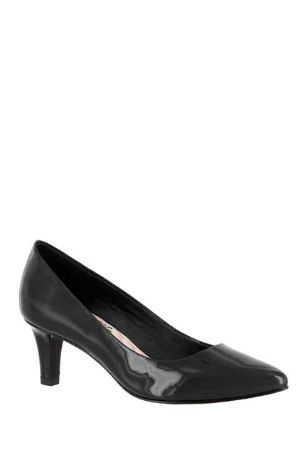 Image of EASY STREET Pointe Pointed Toe Patent Pump - Multiple Widths Available