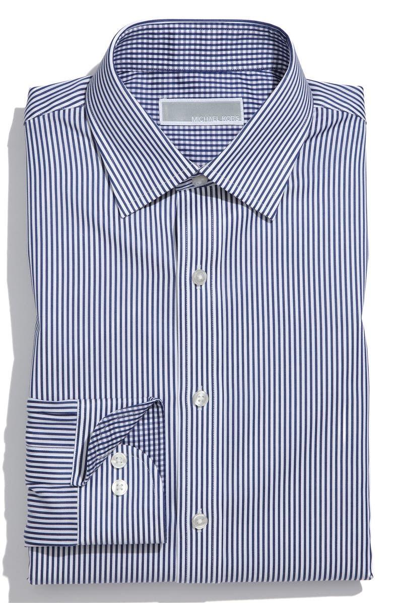 MICHAEL KORS Regular Fit Dress Shirt, Main, color, 415