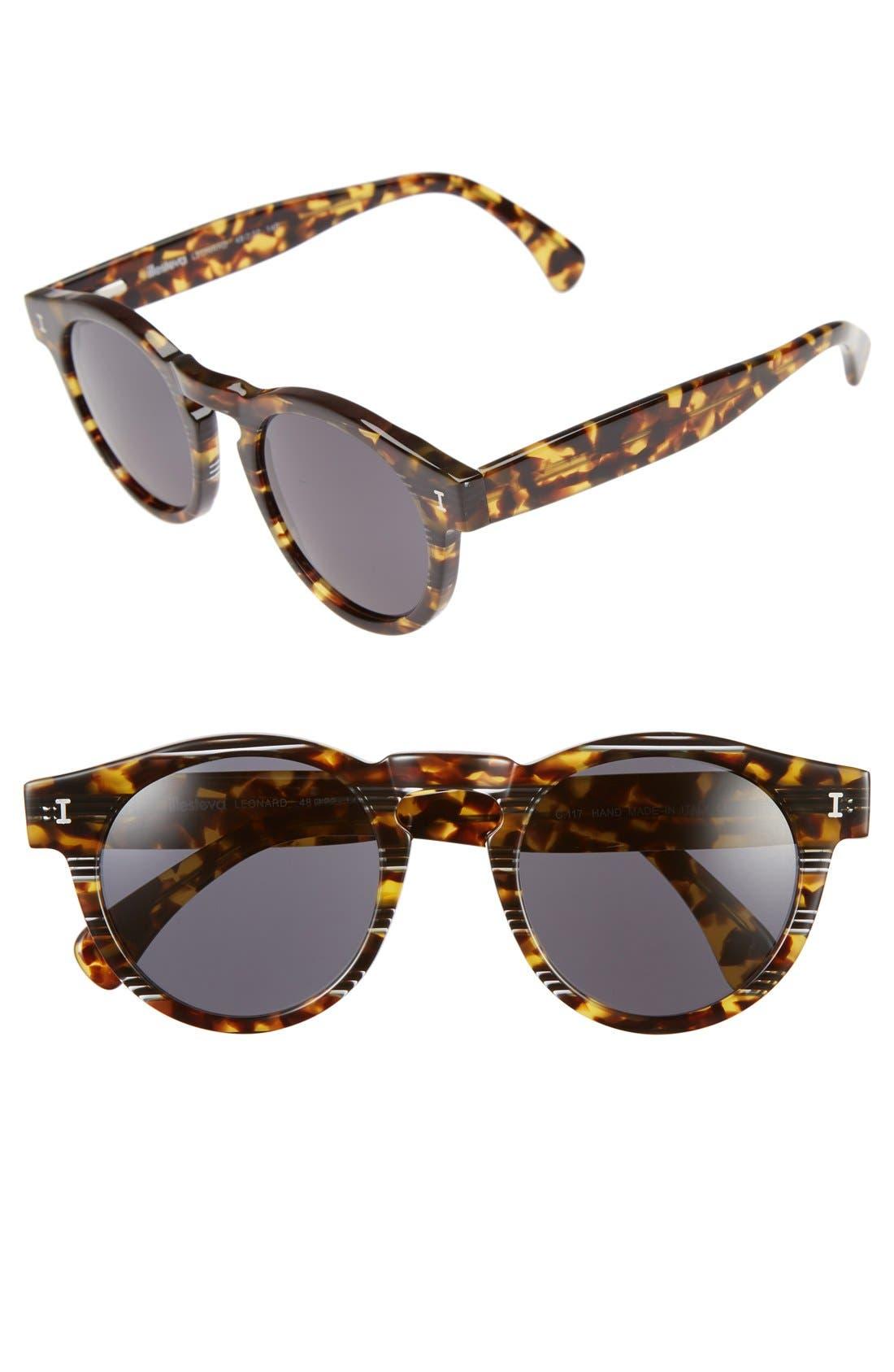 ,                             'Leonard' 47mm Sunglasses,                             Main thumbnail 85, color,                             209