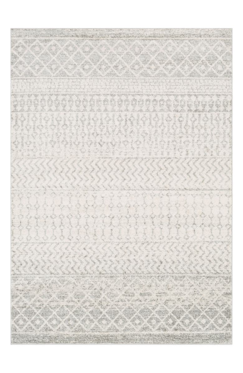 SURYA HOME Elaziz Area Rug, Main, color, LIGHT GRAY