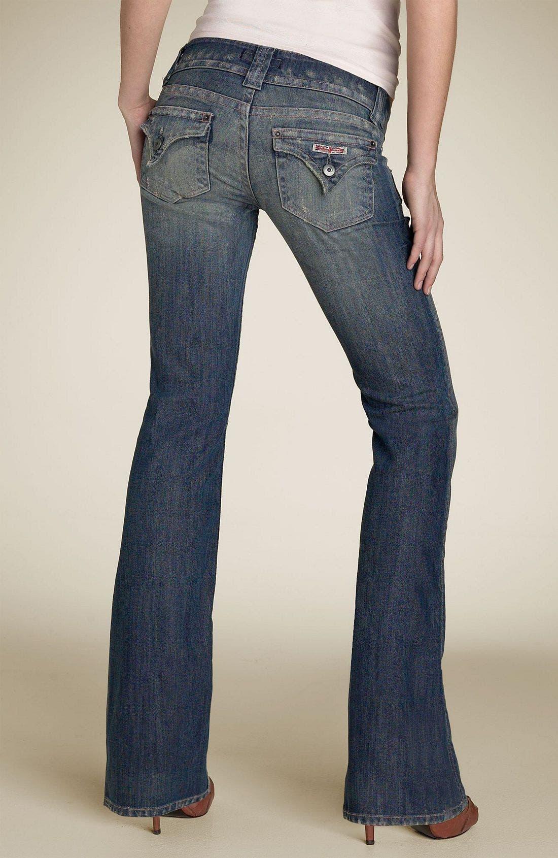 ,                             Signature Flap Pocket Bootcut Jeans,                             Alternate thumbnail 51, color,                             454