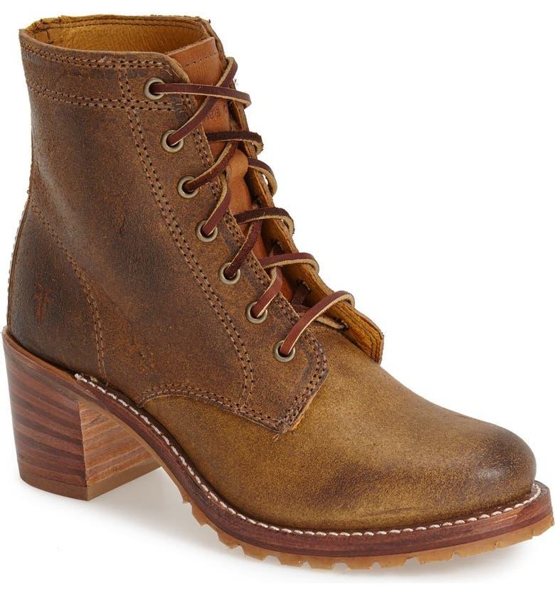 FRYE 'Sabrina' Boot, Main, color, TAN SUEDE