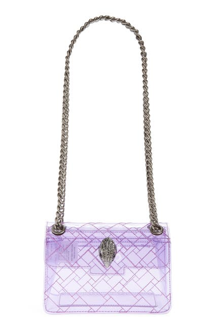 Image of Kurt Geiger London Mini Ken Transparent Crossbody Bag