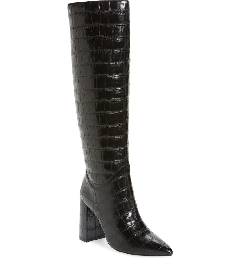 JEFFREY CAMPBELL Siren Knee High Boot, Main, color, 019