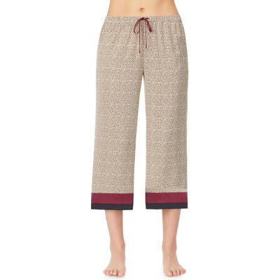 Room Service Crop Pajama Pants, Brown (Nordstrom Exclusive)