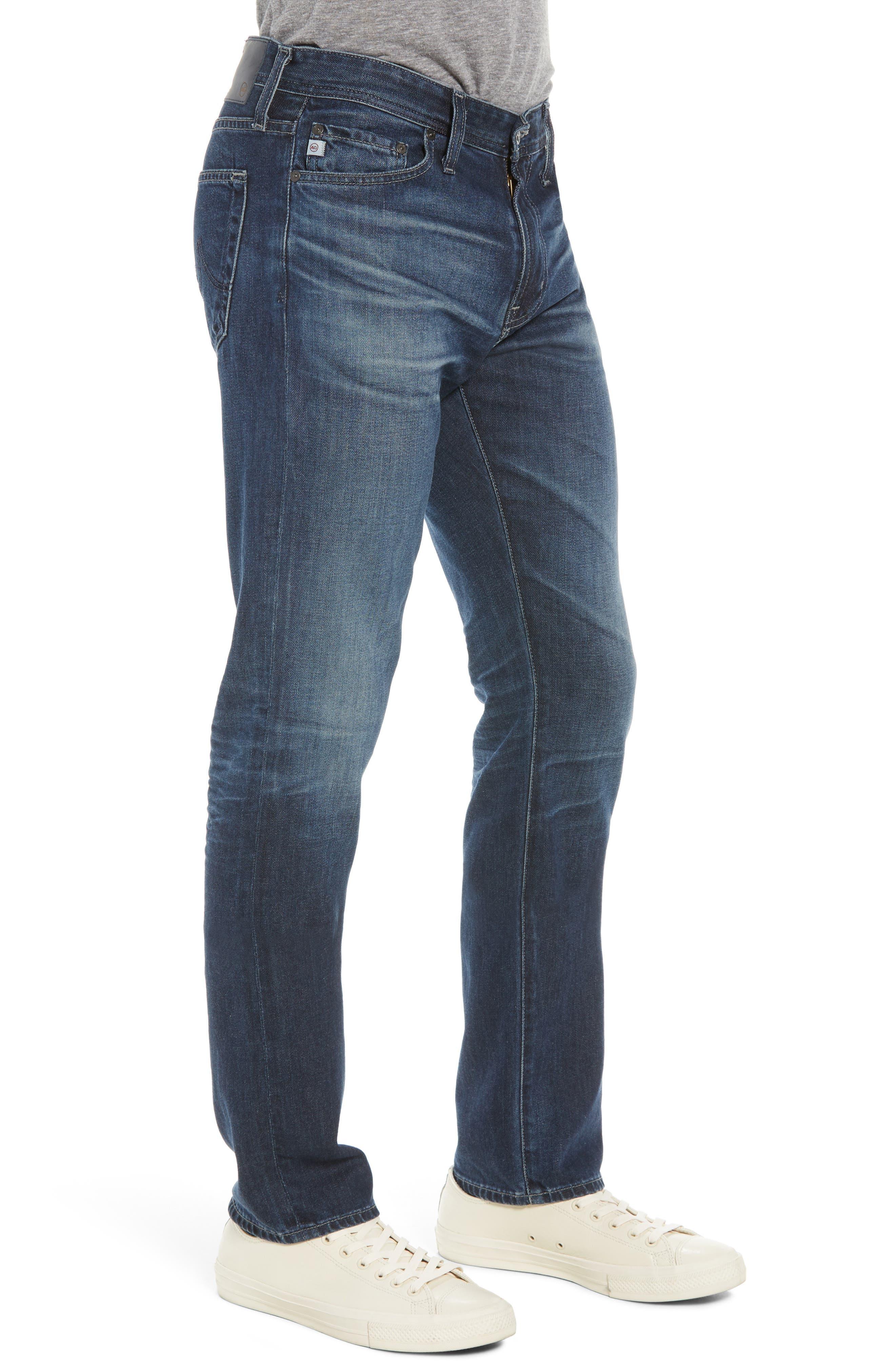 ,                             Everett Slim Straight Leg Jeans,                             Alternate thumbnail 4, color,                             400