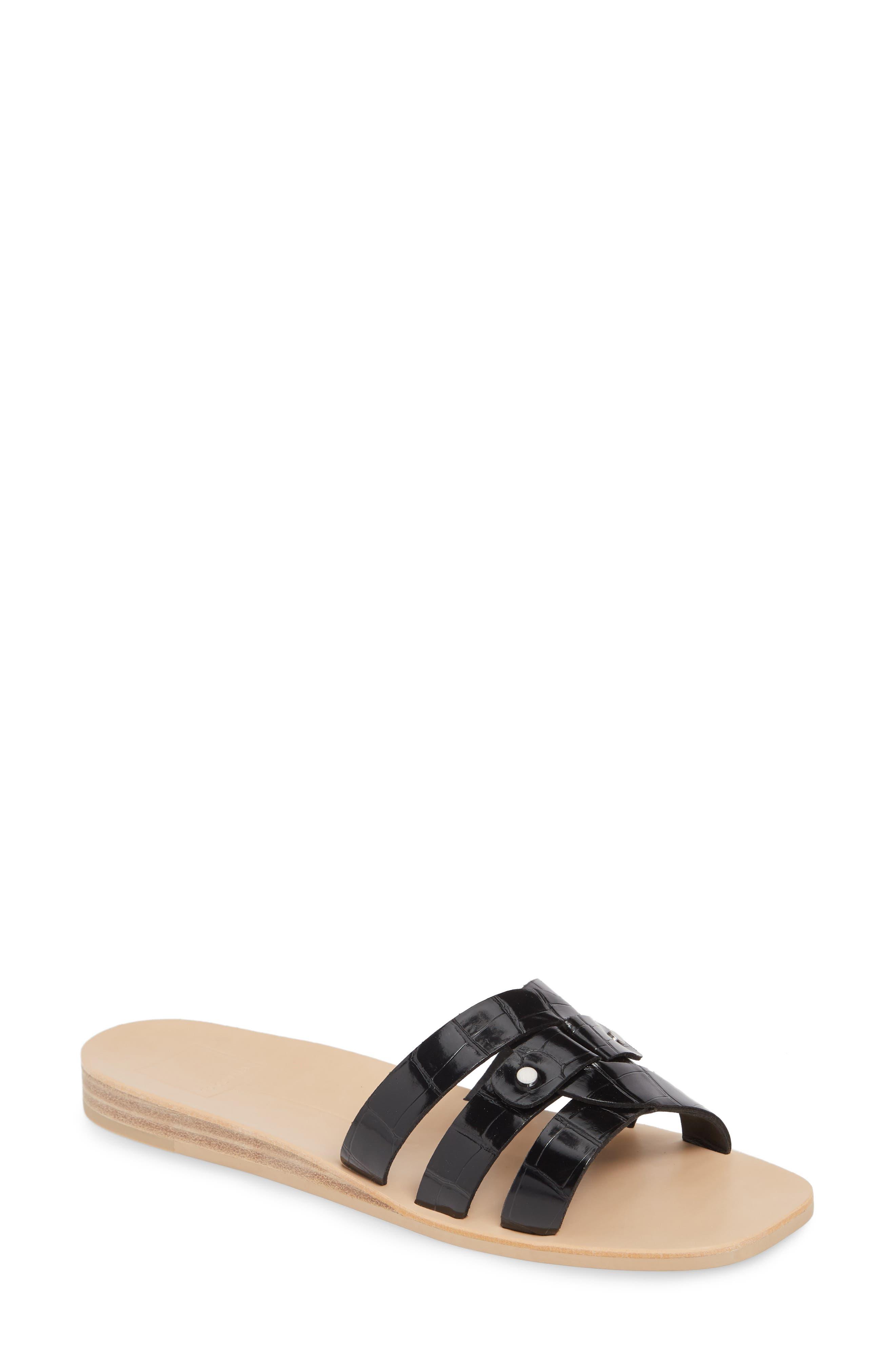 Dolce Vita Cait Slide Sandal, Black
