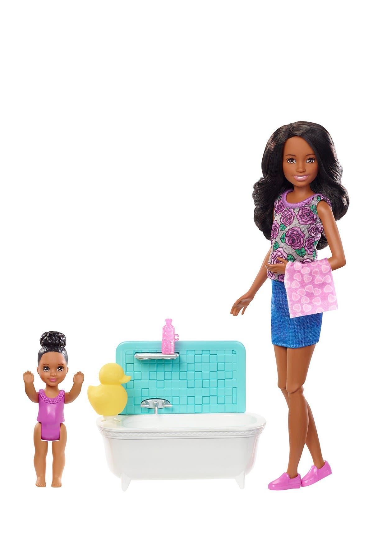 Image of Mattel Barbie(R) Skipper(R) Babysitters Inc (TM) Dolls & Playset