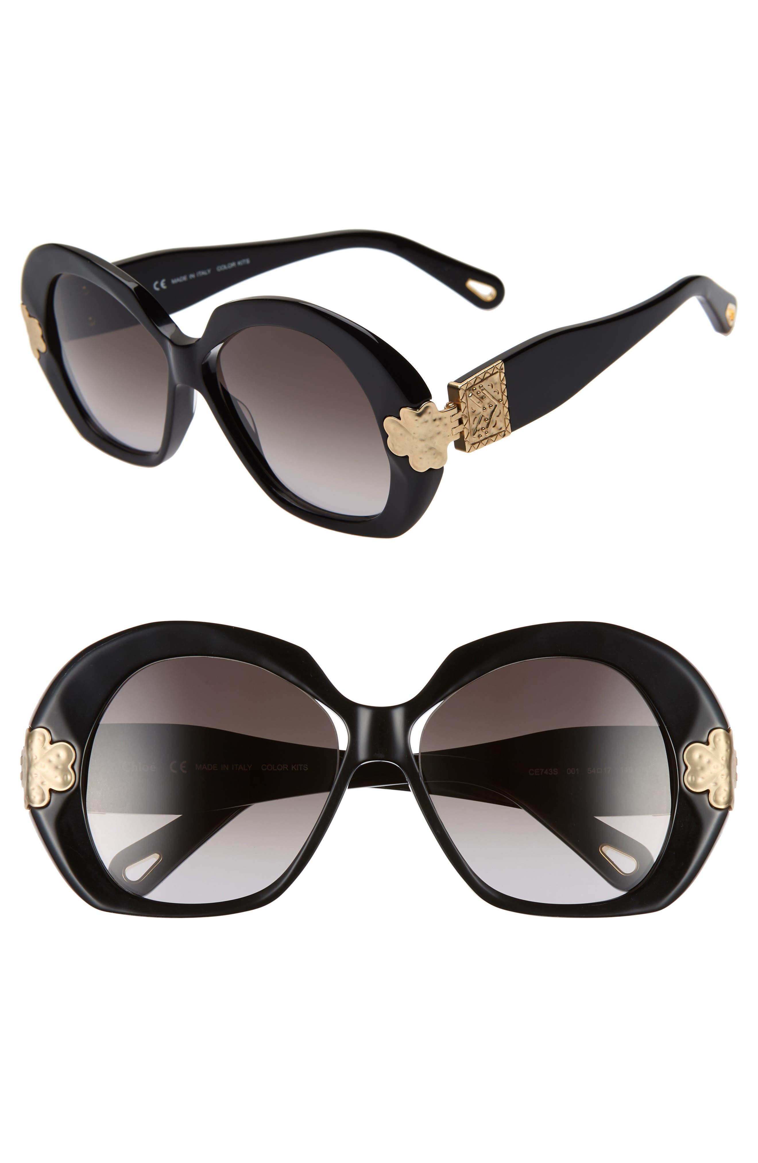 Chloe 5m Oval Sunglasses -
