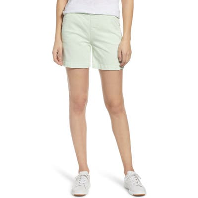 Jag Jeans Gracie Cotton Blend Shorts, Green