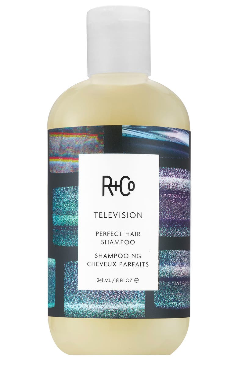R+CO Television Perfect Hair Shampoo, Main, color, NO COLOR