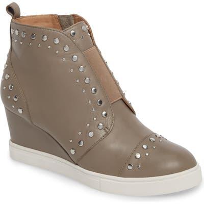 Linea Paolo Felicity Wedge Sneaker- Grey