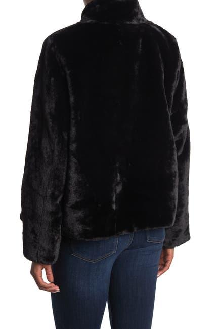 Image of VERO MODA Thea Short Faux Fur Jacket