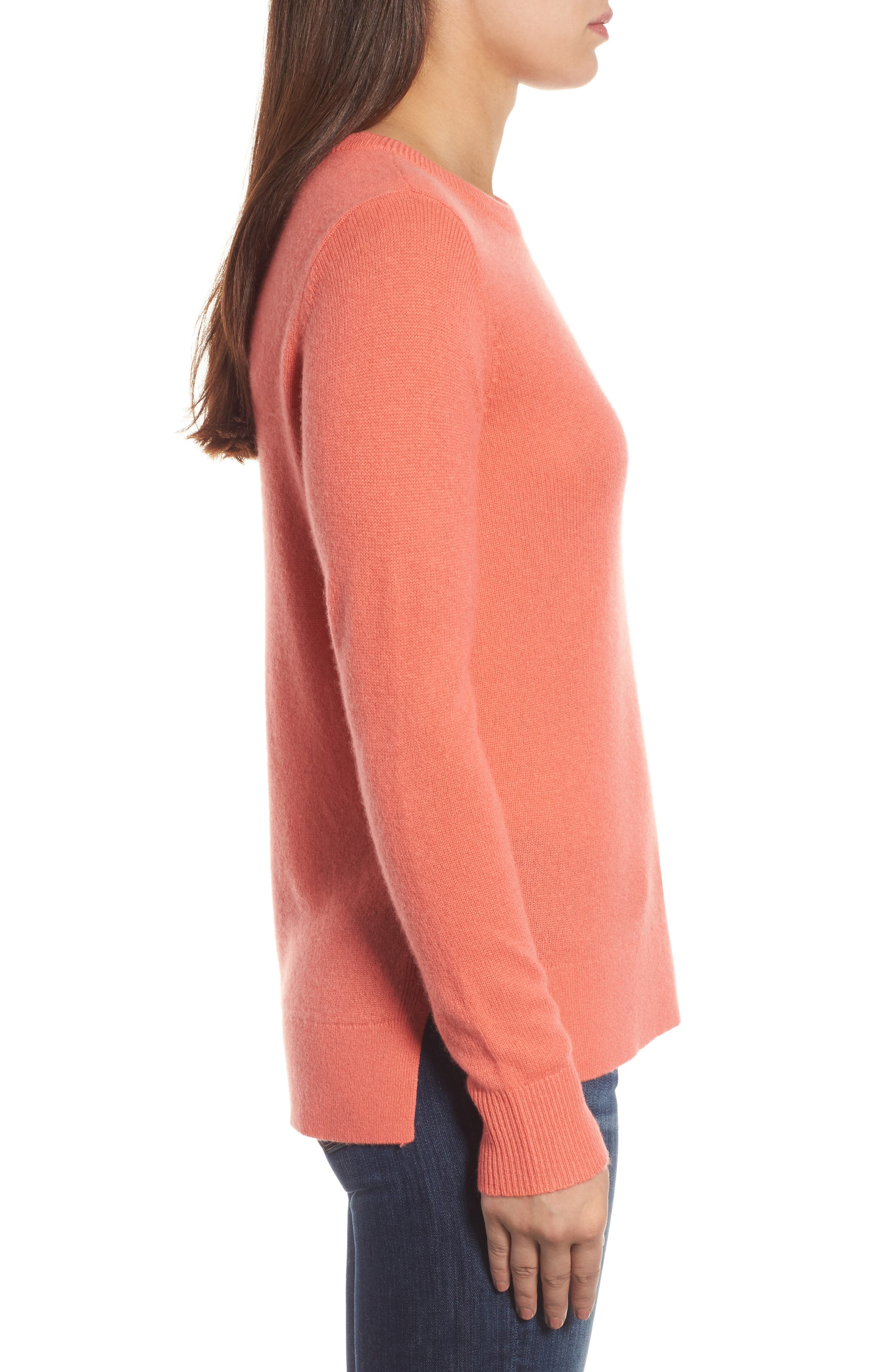 ,                             Crewneck Cashmere Sweater,                             Alternate thumbnail 233, color,                             950