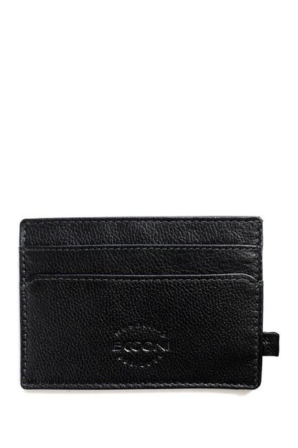 Image of BOCONI Weekend Leather ID Wallet