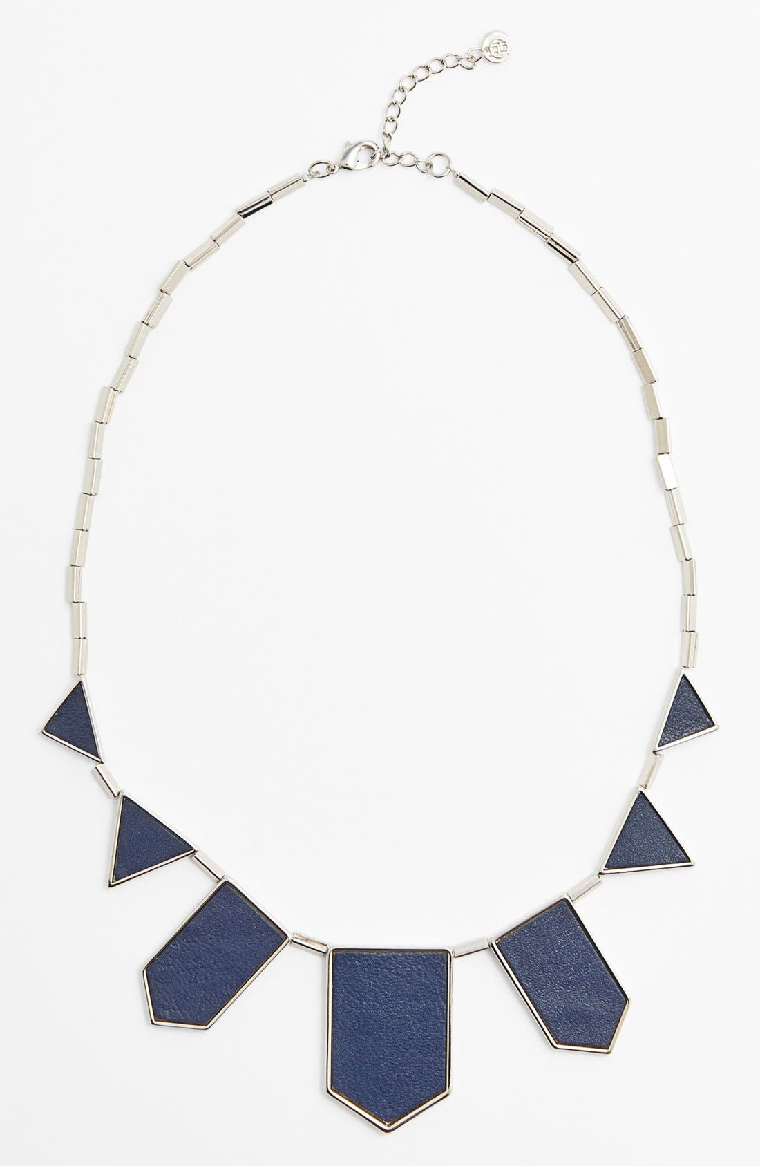 ,                             Leather Station Necklace,                             Alternate thumbnail 17, color,                             410