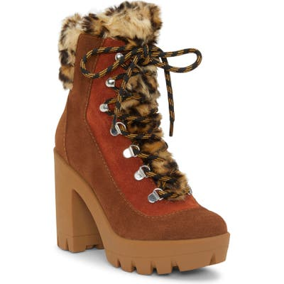 Jessica Simpson Mikah Bootie, Brown