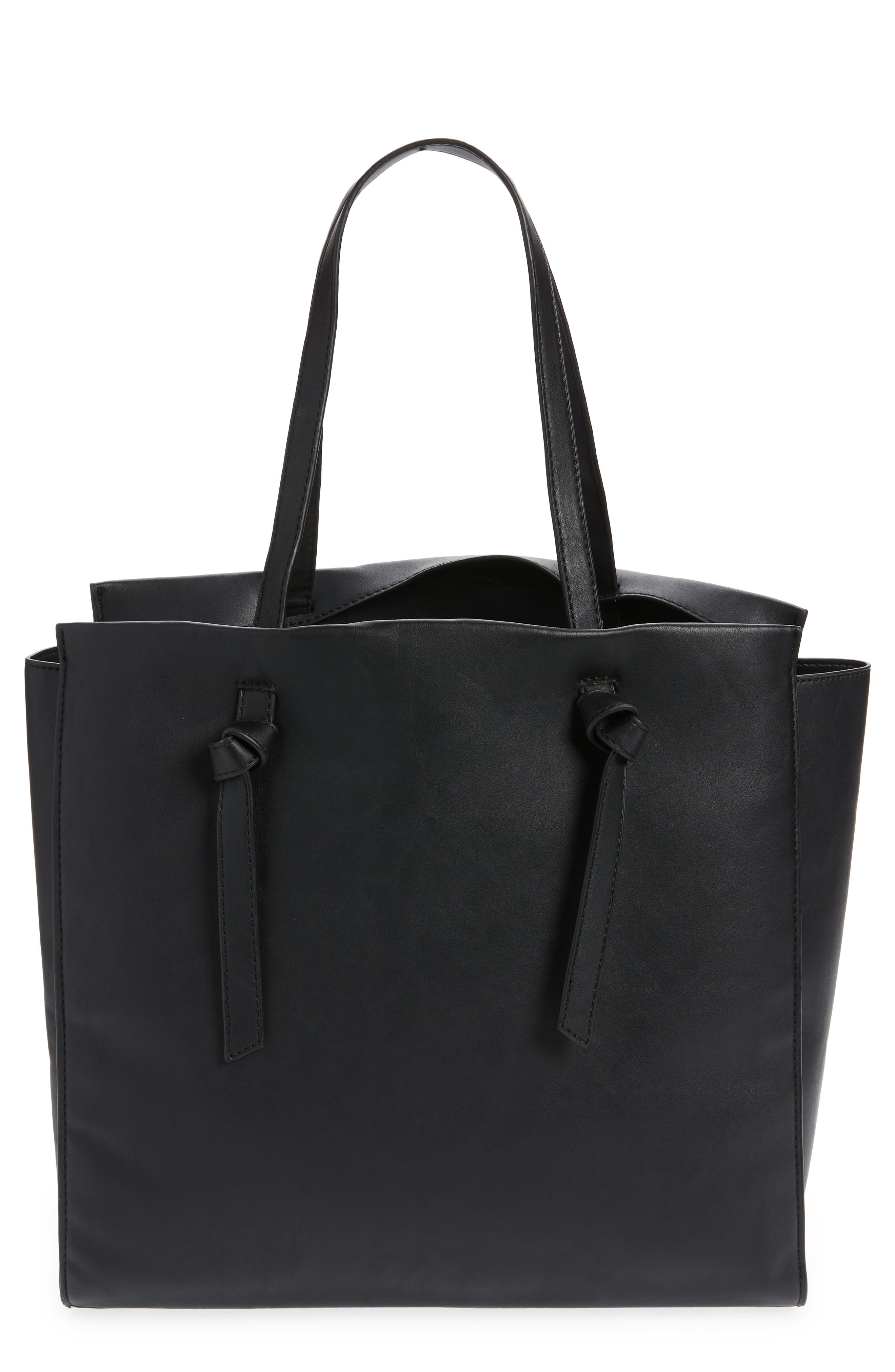 Heather Knotted Work Tote