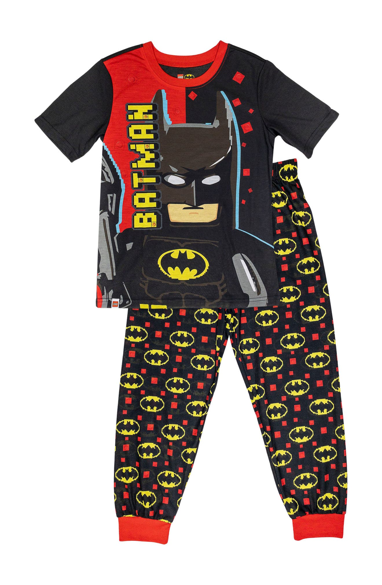 Image of SGI Apparel Lego Batman 2-Piece Pajama Set