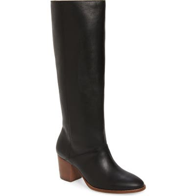 Madewell The Kiki Knee High Boot, Black