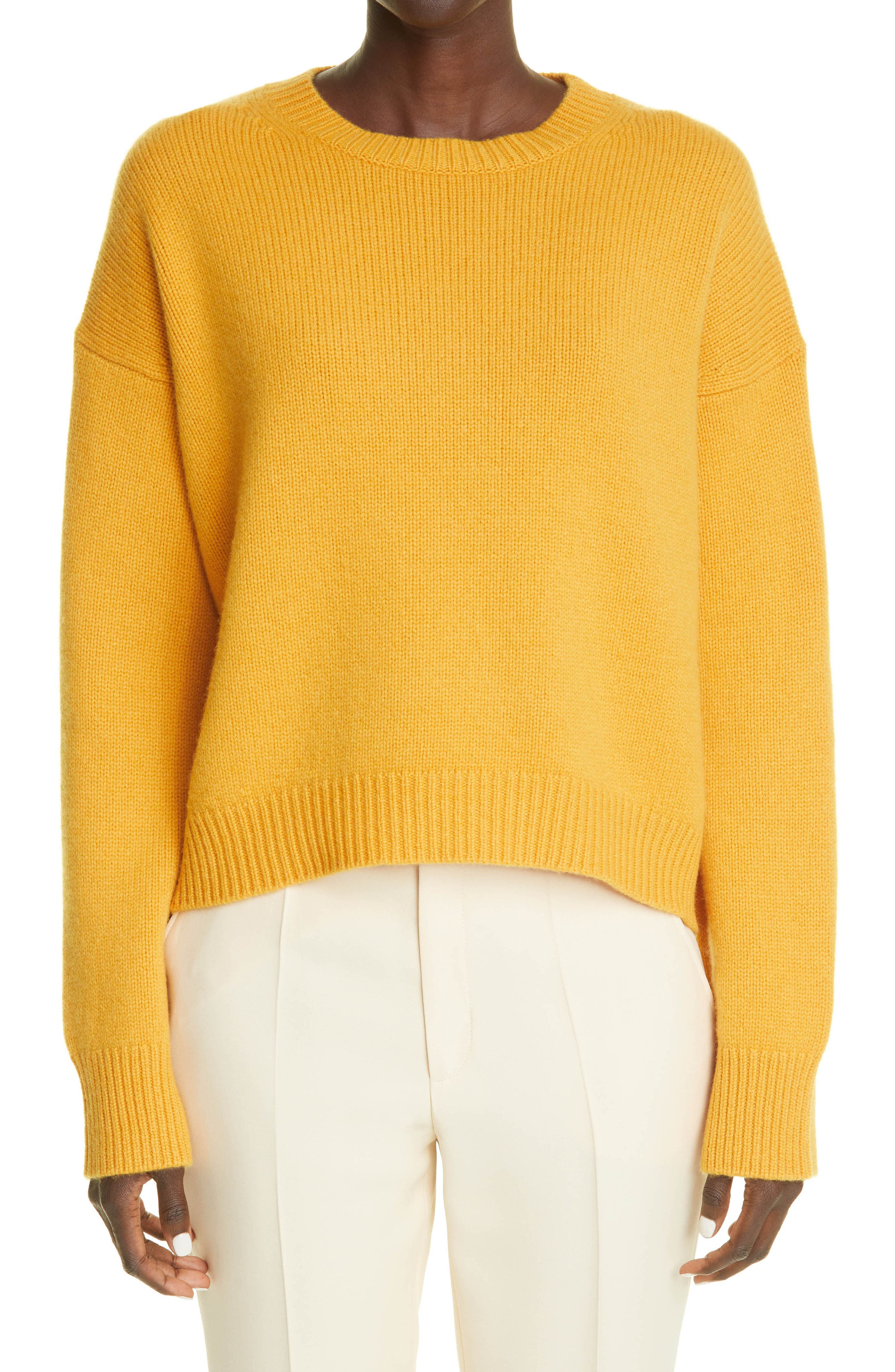The Ivy Chunky Crop Cashmere Sweater
