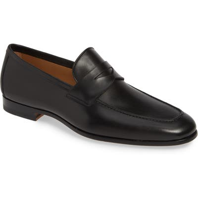 Magnanni Reed Penny Loafer- Black