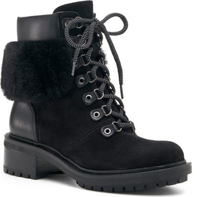 Botkier Madigan Hiking Boot, Black