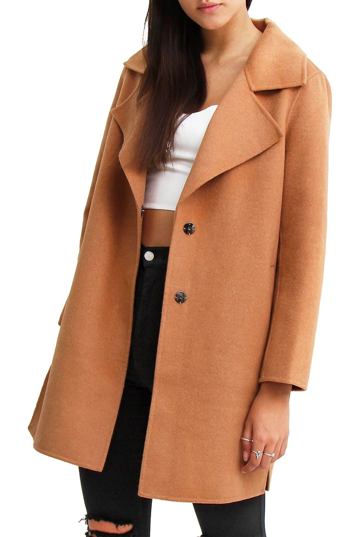 Image of Belle & Bloom Ex Boyfriend Wool Coat