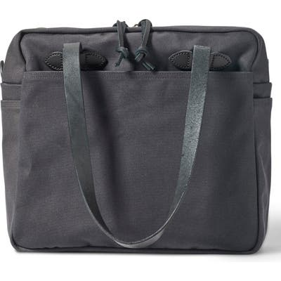 Filson Zip Tote Bag - Grey