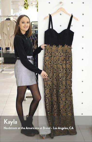 Lorena Lace Mermaid Gown, sales video thumbnail