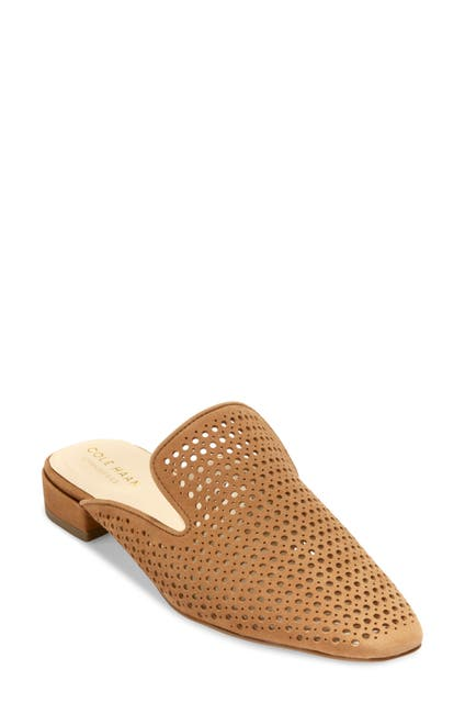 Image of Cole Haan Paula Perforated Loafer Mule