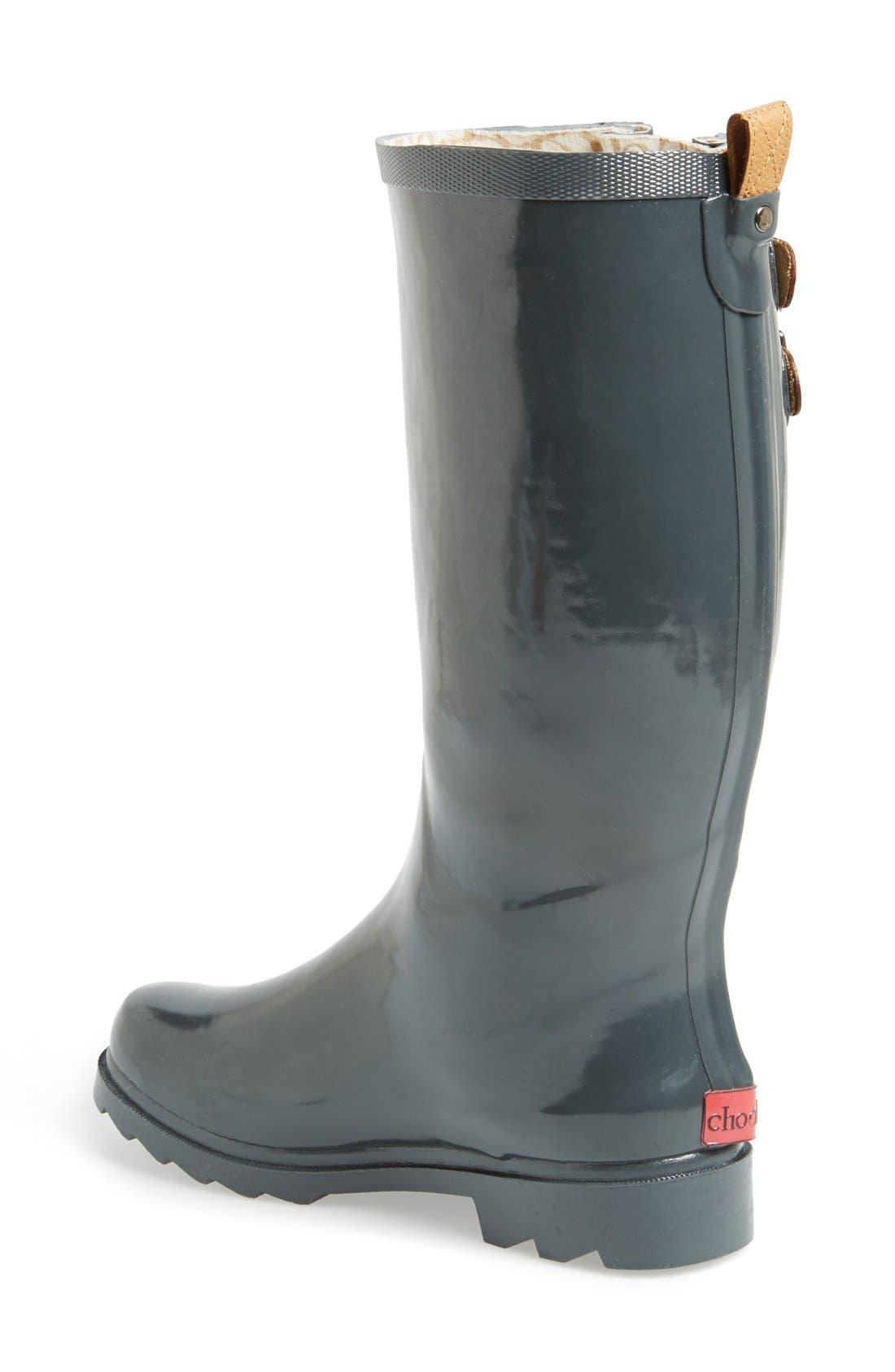 ,                             'Top Solid' Rain Boot,                             Alternate thumbnail 10, color,                             010
