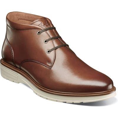 Florsheim Astor Plain Toe Chukka Boot, Brown