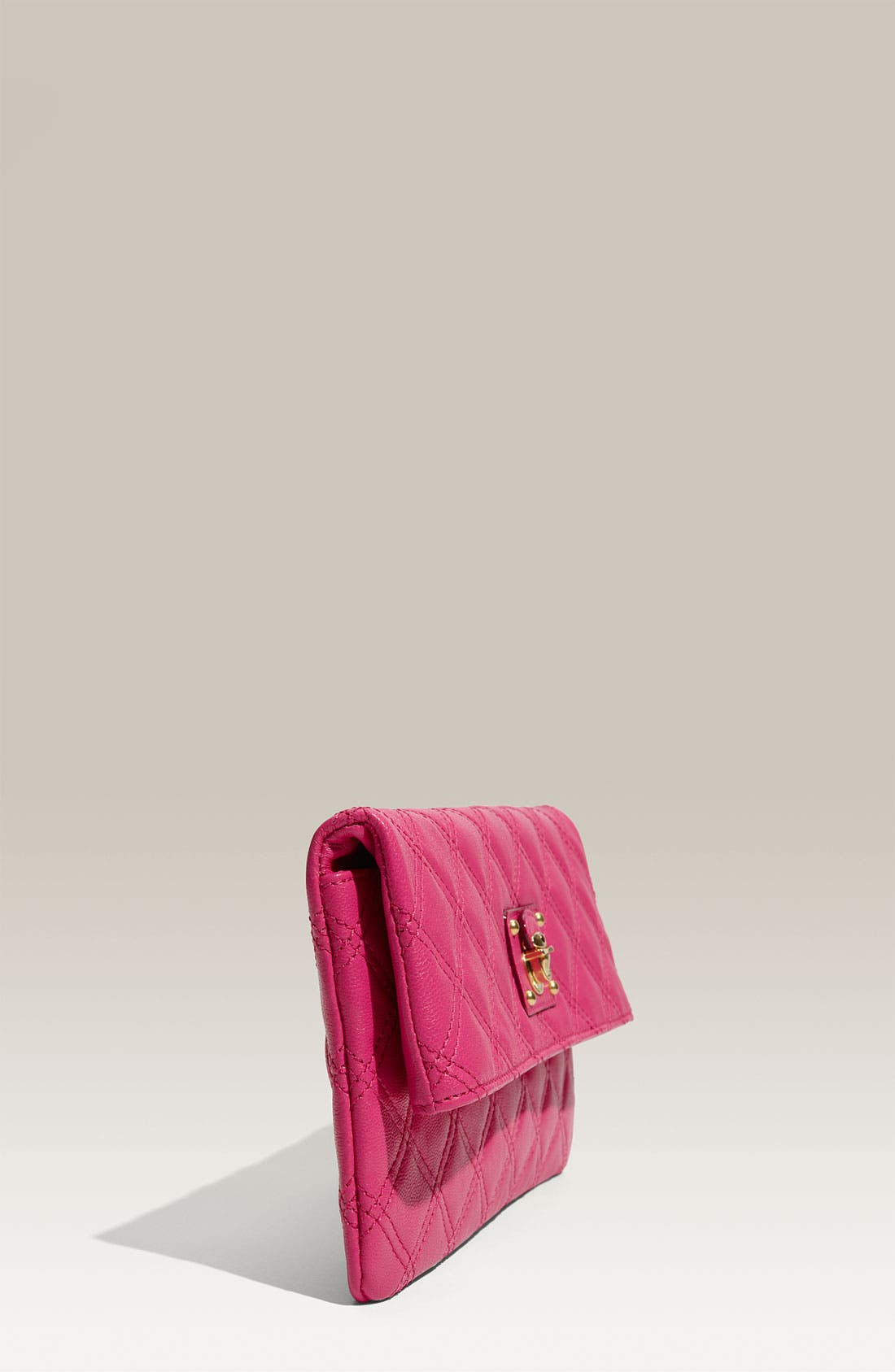 ,                             'Quilting - Eugenie' Leather Clutch,                             Alternate thumbnail 12, color,                             670