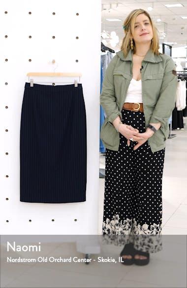 Midi Pencil Skirt, sales video thumbnail