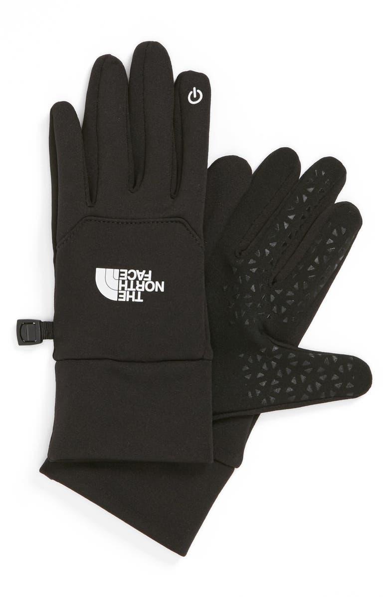 THE NORTH FACE 'E-Tip' Glove, Main, color, 001